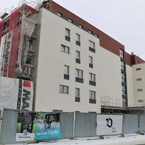 Etap IV realizacji budowy mieszkań styczeń 2019