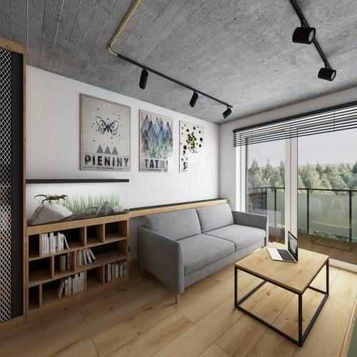 """Mieszkanie """"Pod klucz"""" - wnętrze 2"""