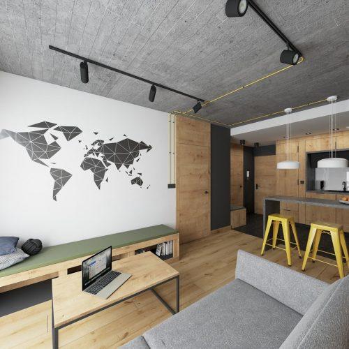 Mieszkanie pod klucz - wnętrze